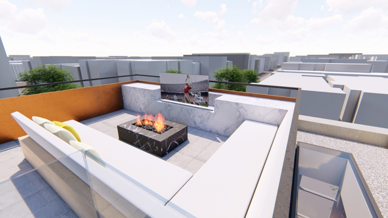 Roof Deck Renderings